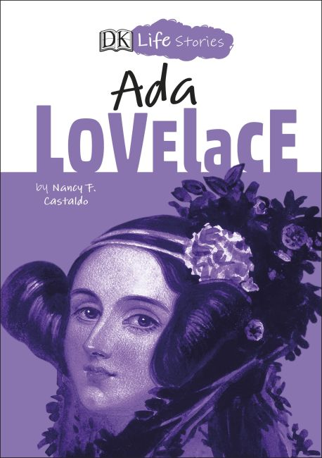 Hardback cover of DK Life Stories Ada Lovelace