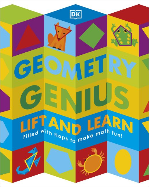 Board book cover of Geometry Genius