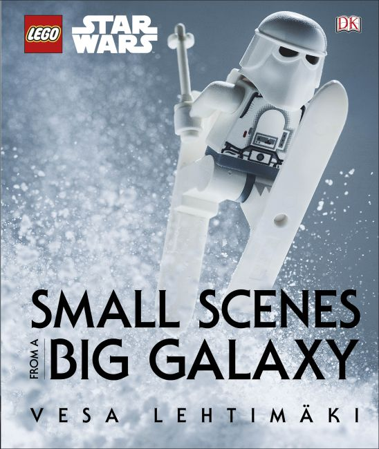 Hardback cover of LEGO Star Wars: Small Scenes from a Big Galaxy