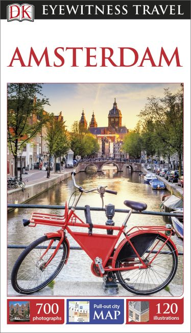 Flexibound cover of DK Eyewitness Travel Guide Amsterdam
