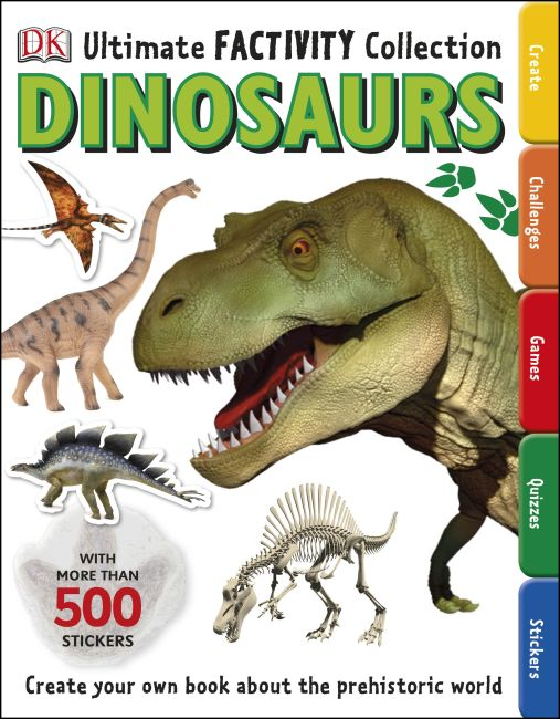 Paperback cover of Dinosaur Ultimate Factivity Collection