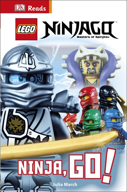 Hardback cover of LEGO® Ninjago Ninja, Go!