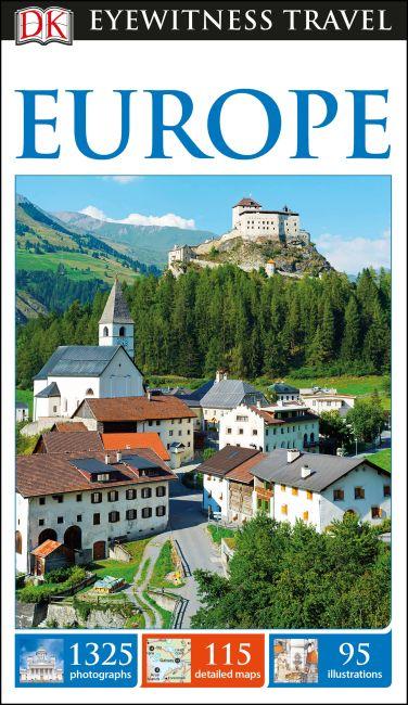 Flexibound cover of DK Eyewitness Travel Guide Europe