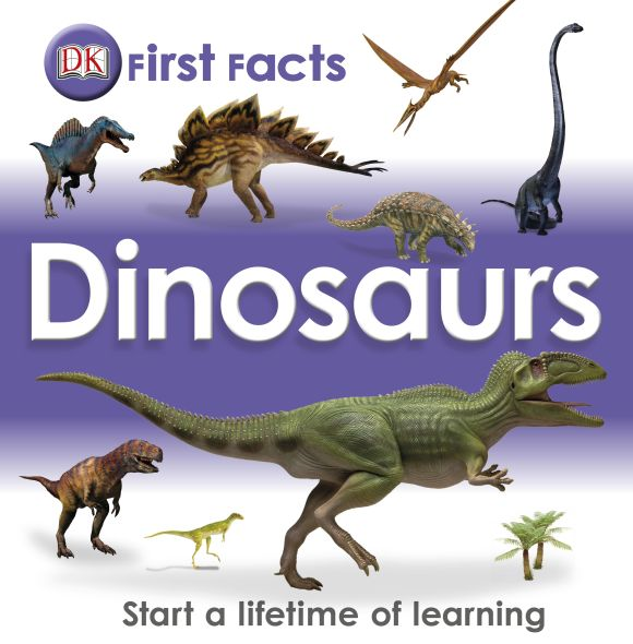 eBook cover of First Facts:Dinosaurs