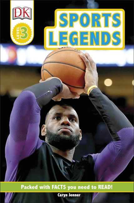 eBook cover of Sports Legends
