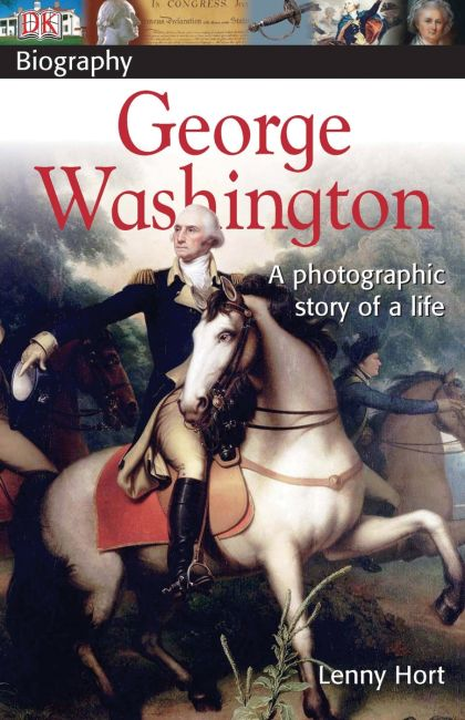 Paperback cover of DK Biography: George Washington