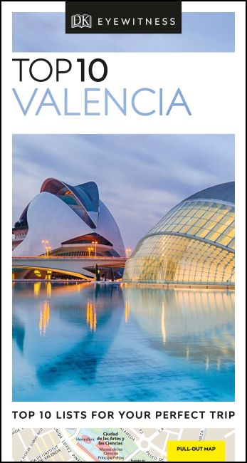 Paperback cover of DK Eyewitness Top 10 Valencia