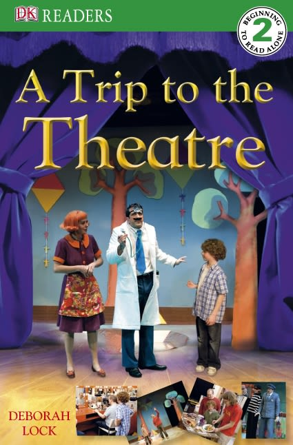 eBook cover of DK Reader Level 2: A Trip to the Theatre