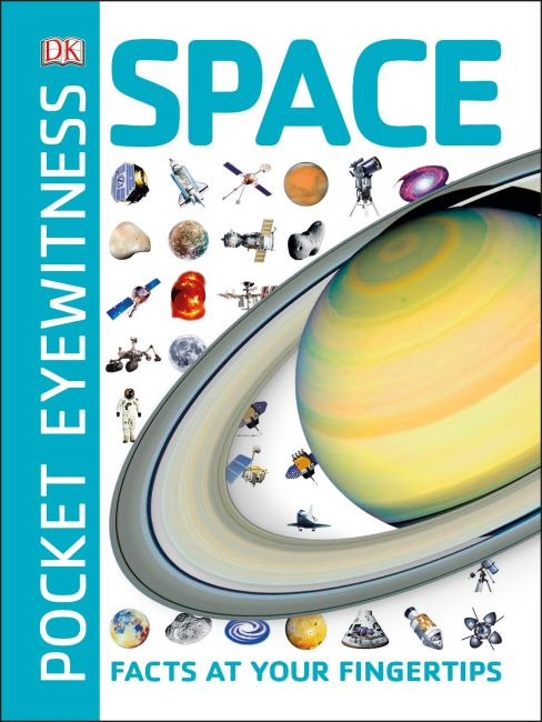 Paperback cover of Pocket Eyewitness Space