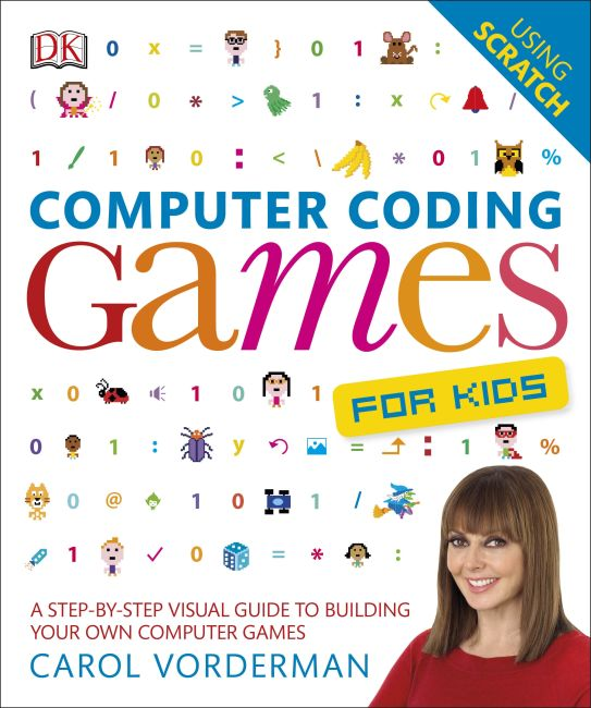 Flexibound cover of Computer Coding Games for Kids