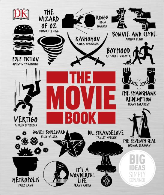 Hardback cover of The Movie Book