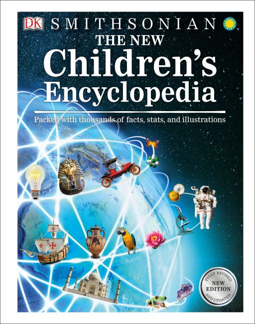 Hardback cover of The New Children's Encyclopedia