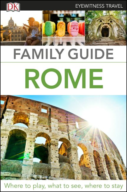 Flexibound cover of Family Guide Rome