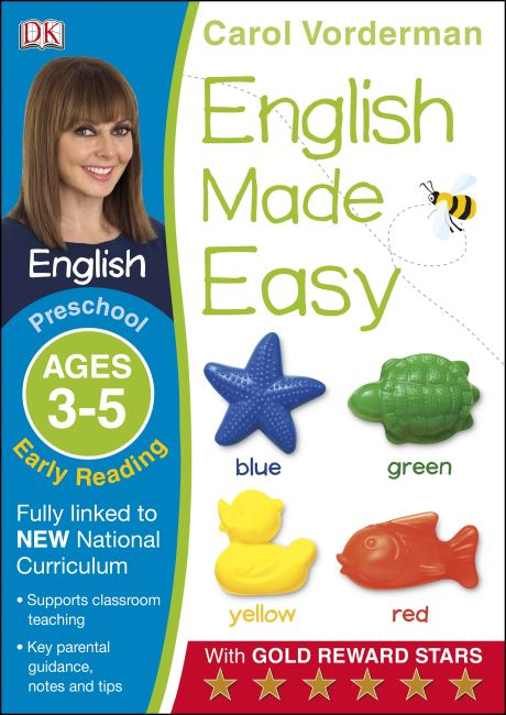 Paperback cover of English Made Easy Early Reading Ages 3-5 Preschool Key Stage 0