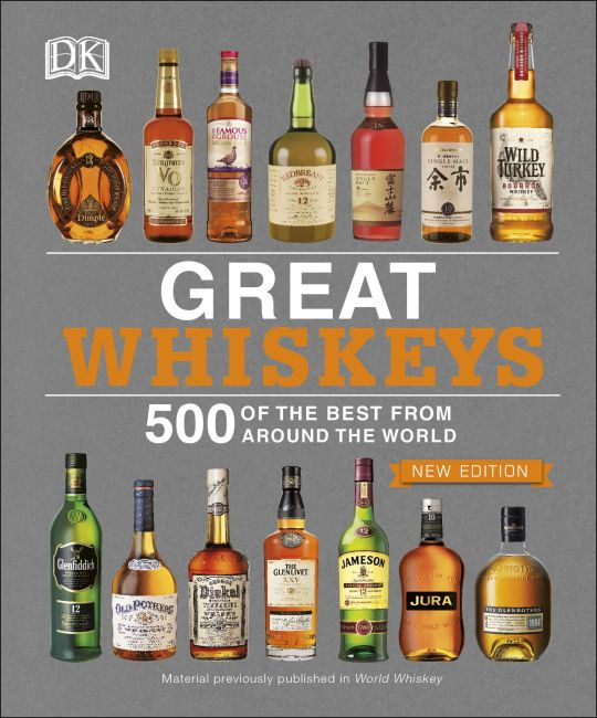 Paperback cover of Great Whiskeys