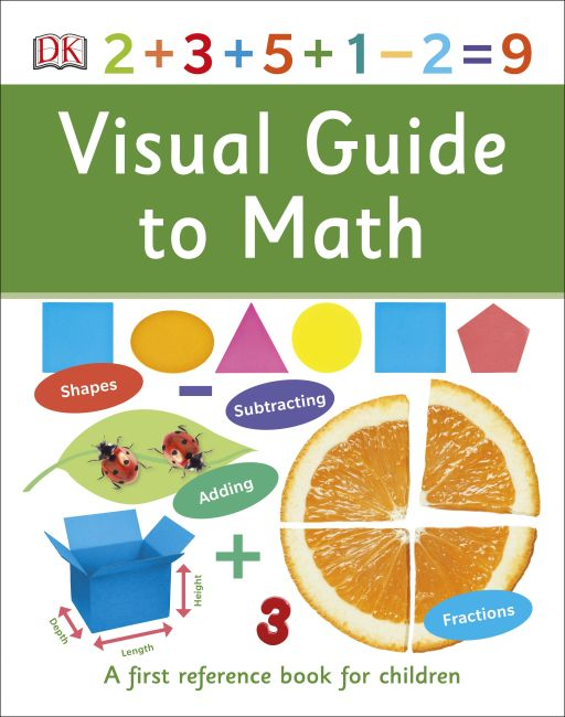 Hardback cover of Visual Guide to Math