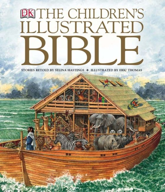 Hardback cover of The Children's Illustrated Bible