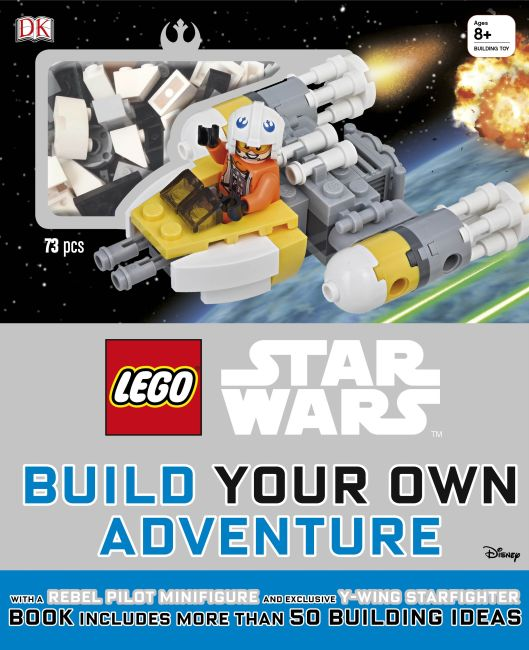 Hardback cover of LEGO Star Wars: Build Your Own Adventure
