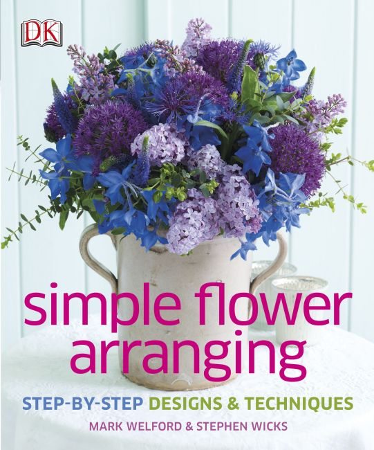 Hardback cover of Simple Flower Arranging