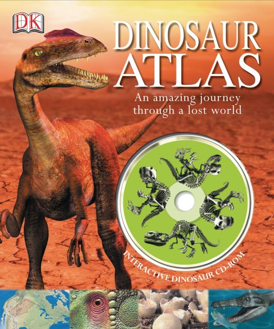 Hardback cover of Dinosaur Atlas
