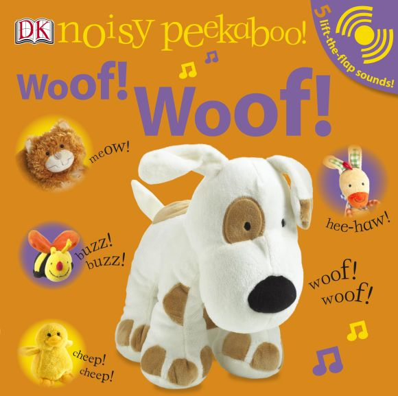 Board book cover of Woof! Woof!