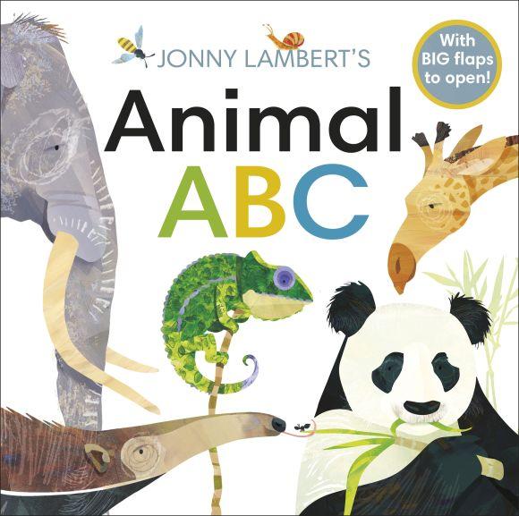 Board book cover of Jonny Lambert's Animal ABC