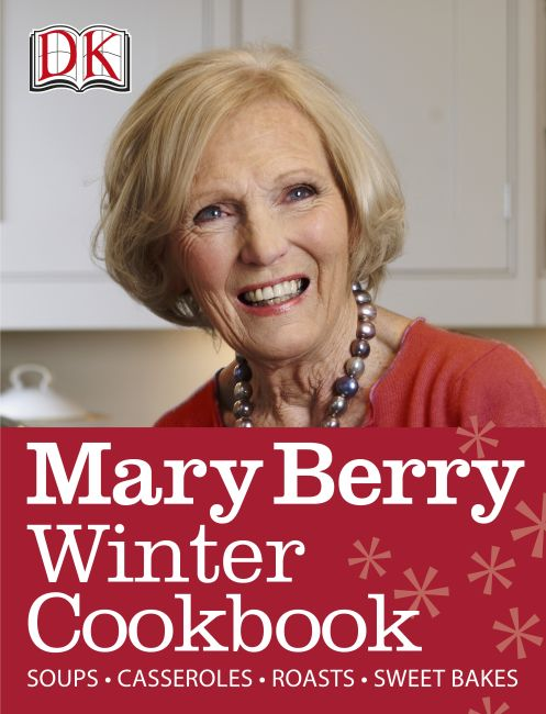 eBook cover of Mary Berry Winter Cookbook