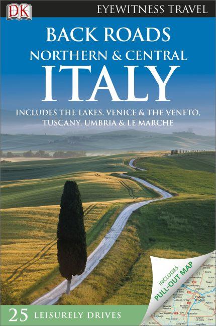 Paperback cover of Back Roads Northern and Central Italy