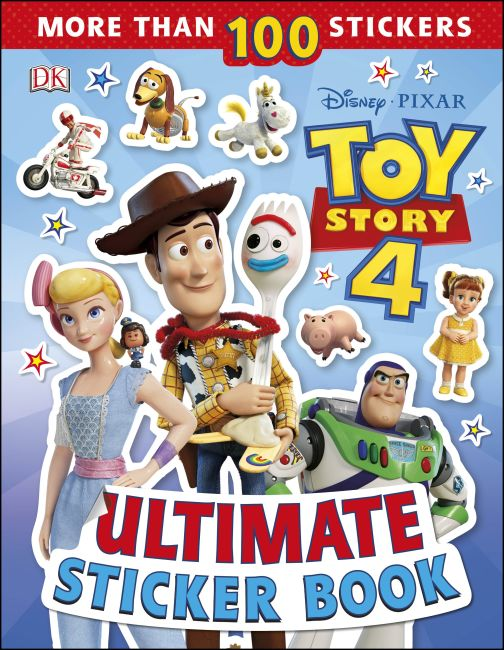 Paperback cover of Disney Pixar Toy Story 4 Ultimate Sticker Book