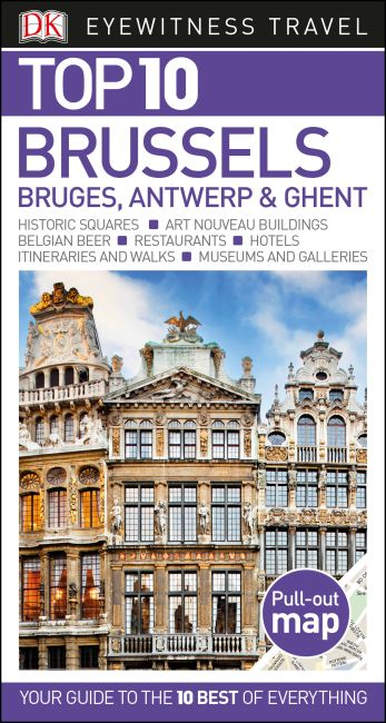 Paperback cover of Top 10 Brussels, Bruges, Antwerp and Ghent