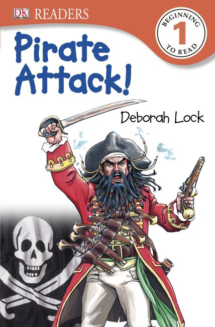 Paperback cover of DK Readers L1: Pirate Attack!