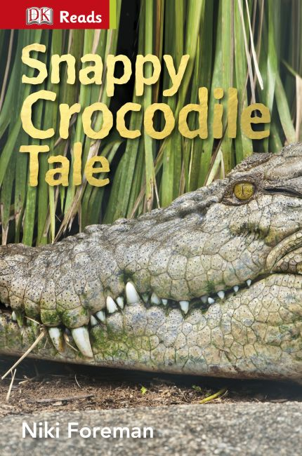 eBook cover of Snappy Crocodile Tale