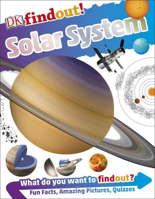 Flexibound cover of DKfindout! Solar System