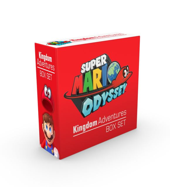 Slipcase of Editions cover of Super Mario Odyssey Kingdom Adventures Box Set