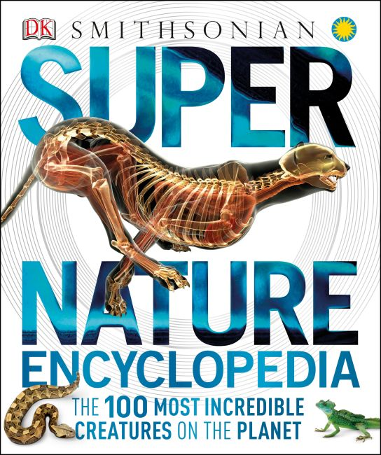 Hardback cover of Super Nature Encyclopedia