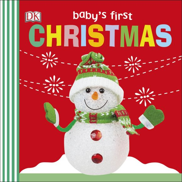 Board book cover of Baby's First Christmas