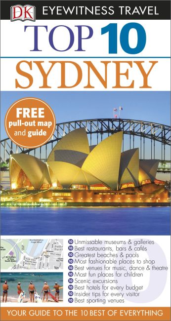 Paperback cover of Top 10 Sydney