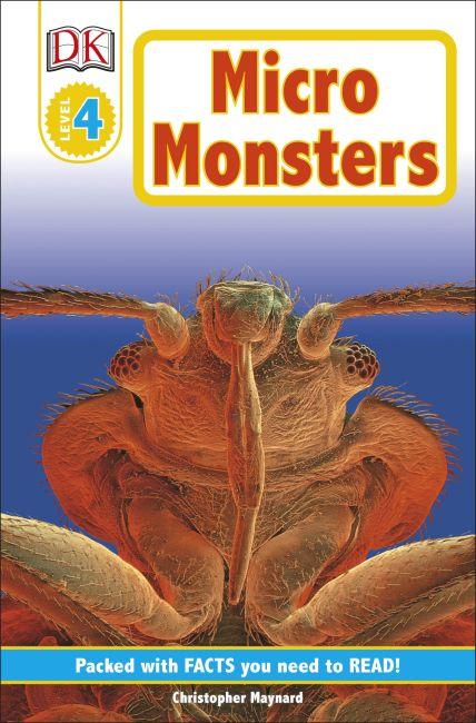 Paperback cover of DK Readers L4: Micromonsters