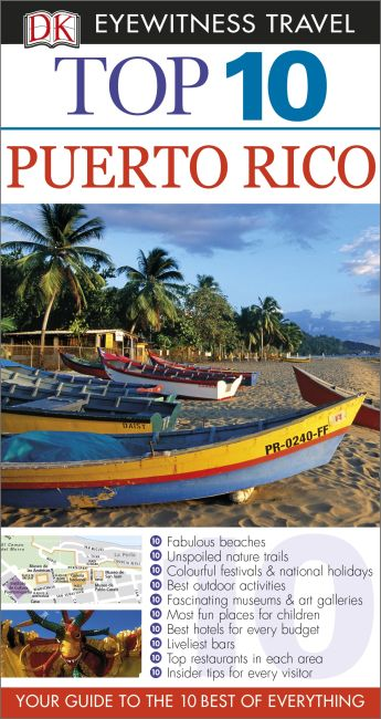 eBook cover of Top 10 Puerto Rico