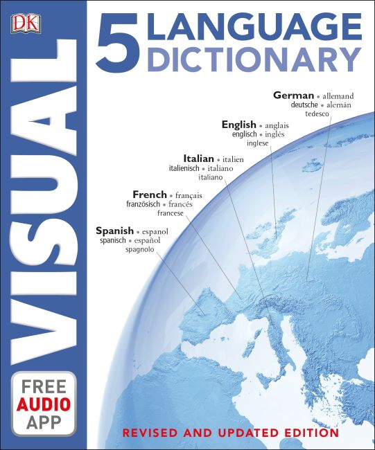 Paperback cover of 5 Language Visual Dictionary