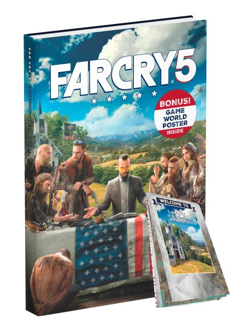 Hardback cover of Far Cry 5