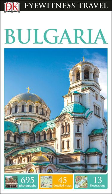 Flexibound cover of DK Eyewitness Travel Guide Bulgaria