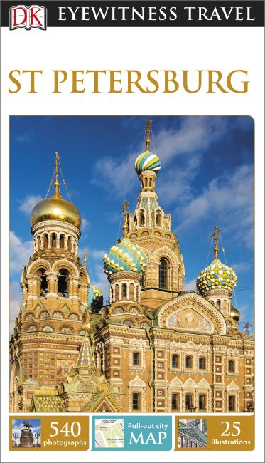 Paperback cover of DK Eyewitness Travel Guide St Petersburg