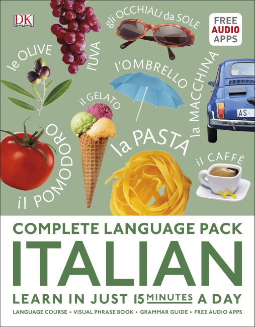 Paperback cover of Complete Language Pack Italian