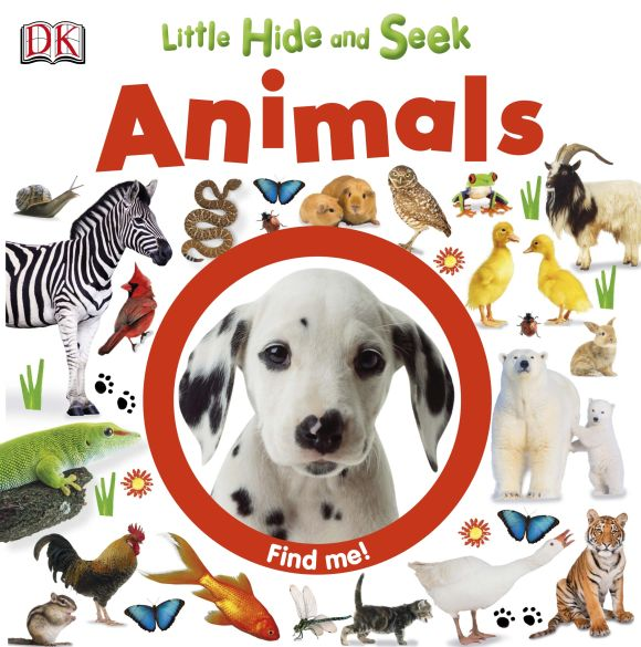 eBook cover of Little Hide and Seek Animals