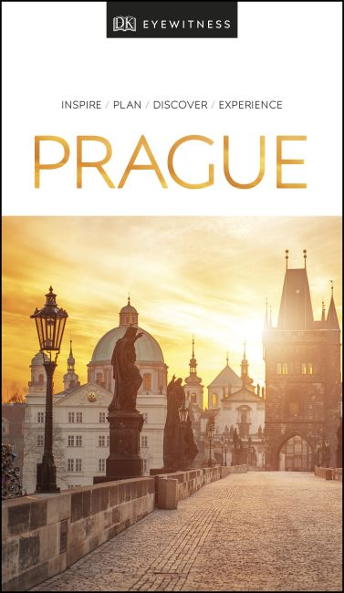 Paperback cover of DK Eyewitness Prague