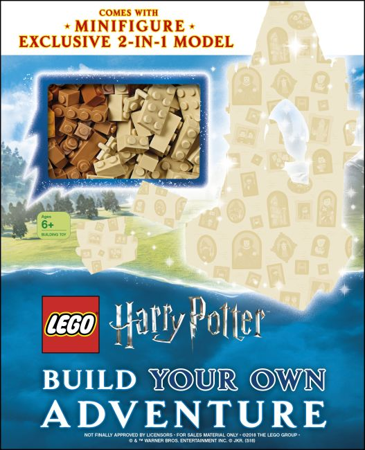 Hardback cover of LEGO Harry Potter Build Your Own Adventure
