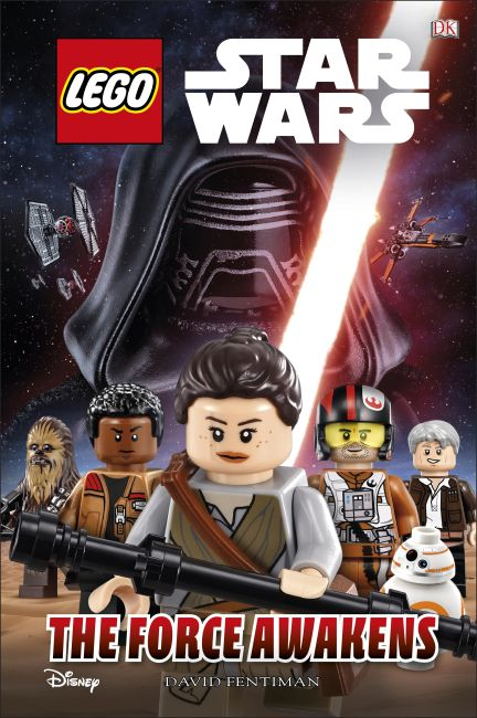 Hardback cover of LEGO Star Wars The Force Awakens