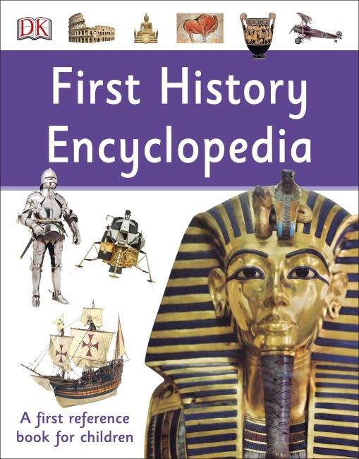 Paperback cover of First History Encyclopedia