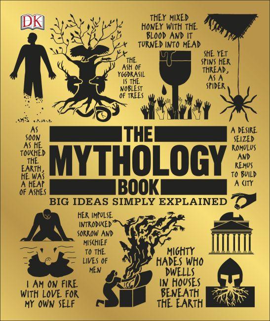 Hardback cover of The Mythology Book